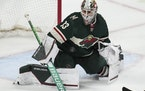 Cam Talbot stopped 57 of 60 shots in the Wild's season-opening victories at Anaheim and Los Angeles.