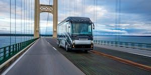 The Journey, an all-new diesel luxury motor coach from Winnebago Industries.