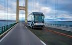 The Journey, an all-new diesel motorhome from Winnebago Industries.