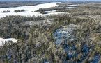 This is the site, on the shore of Birch Lake, the Twin Metals Coper Nickel Mine Tailings Management site is part of the proposed plan. ] In theory, th