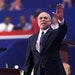 Colin Powell greets delegates on July 31, 2000, at the Republican National Convention in Philadelphia.