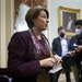 Sen. Amy Klobuchar is the lead sponsor of a bill to set federal standards on voting and elections.