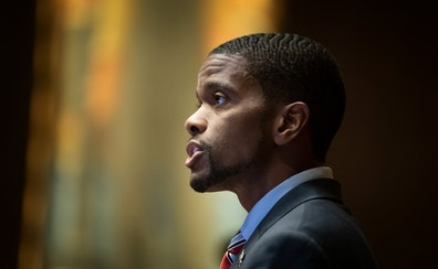 St. Paul Mayor Melvin Carter, seen in 2019, on Thursday rolled out one of the state's most stringent COVID-19 vaccine policies.