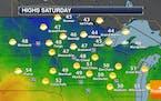 Near 50F This Week - Sunny Saturday, Wetter Sunday