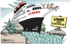 Editorial cartoon: Lisa Benson on the Biden direction