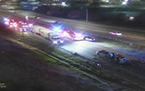 A fatal crash occurred Saturday night around 9:30 p.m. on Hwy. 100 near the Humboldt Avenue exit, just south of Interstate 694.