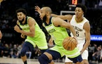Timberwolves guard Jordan McLaughlin drove to the basket during the fourth quarter Saturday against the Pelicans.