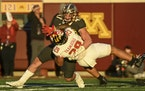 Punishing tackles by the likes of linebacker Jack Gibbens on Maryland running back Challen Faamatau helped the Gophers hold the Terrapins to 79 rushin