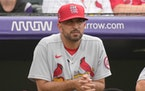 The St. Louis Cardinals plan to announce Monday that bench coach Oliver Marmol will be promoted to replace fired manager Mike Shildt.