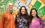 From left to right, Bread & Butter Ventures managing partner Brett Brohl, head of platform Stephanie Rich, and managing partner Mary Grove.