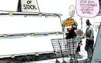 Editorial cartoon: Scott Stantis on the economy