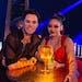 "Sasha Farber and Suni Lee on ""Dancing With the Stars."""