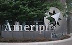 Ameriprise Financial said its net profit surpassed $1 billion in the July-September quarter.