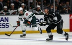 Wild forward Victor Rask (49) was a healthy scratch on Tuesday in Vancouver as the team changed its lineup for the first time since the start of the s
