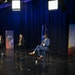 From the left; Minneapolis mayoral candidates Jacob Frey, Sheila Nezhad, Kate Knuth, and A.J. Awed debate during a filming of TPT Almanac in St. Paul,