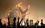Bleachers lead singer Jack Antonoff performs Tuesday, Oct. 26 at the Fillmore Minneapolis in Minneapolis, Minn.  ] CARLOS GONZALEZ • cgonzalez@start