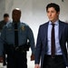 Minneapolis Mayor Jacob Frey, walking ahead of Minneapolis Police Chief Medaria Arradondo, arrived at a news conference at City Hall in 2020.