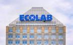 Ecolab corporate headquarters building in St. Paul.